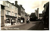 High Street Welwyn RPPC Postcard antique real photograph Cooke Hertfordshire