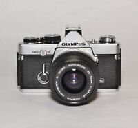 Olympus OM-2 MD 35mm SLR w. S Zuiko Auto 35-70 F3.5 Lens - Fully Film Tested
