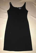 Thierry Mugler Paris Womens Black Sheath Dress - Size 42 US Size 8