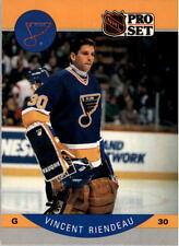 1990-91 PRO SET HOCKEY VINCENT RIENDEAU RC CARD #270 ST. LOUIS BLUES MT/MT-MINT