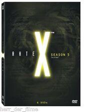 AKTE X Season 5, 6 DVDs (David Duchovny) NEU+OVP