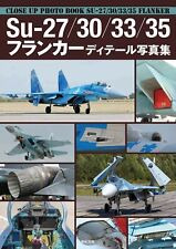 Su-27/30/33/35 Flanker Japanese book Photo Military