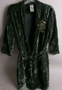 Pottery Barn Teen Harry Potter Slytherin Velvet Robe Small/Medium