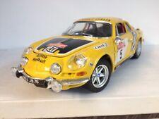 Rare Bburago Alpine Renault A110. Rallye Sanremo