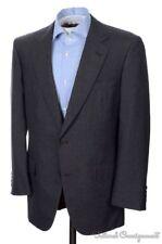 CARROLL & CO Chester Barrie Solid Gray 100% Wool Blazer Sport Coat Jacket - 42 R