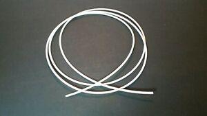 Heat Shrink Tubing 3/32'' Diam x 24ft  2:1 Ratio Sleeve Wire Wrap Raychem White