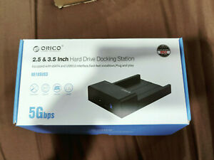 "ORICO ToolFree USB 3.0 eSATA 2.5"" & 3.5"" SATA External Hard Drive Dock 6518SUS3"