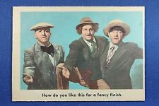 1959 Fleer - 3 Stooges - #20 How do you like this... (Gray back) - Ex.Mt