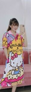 Hello Kitty Character Multicolor Dress