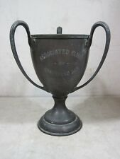 Antique 1907 Associated Clubs Gravesend Bay Cat Boat Yacht Racing Trophy Frick