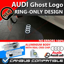 * AUDI LED Welcome Projector Logo Ghost Shadow Door light A3 A4 RING ONLY DESIGN