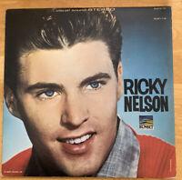 USED! Ricky Nelson. LP Vinyl Record-2