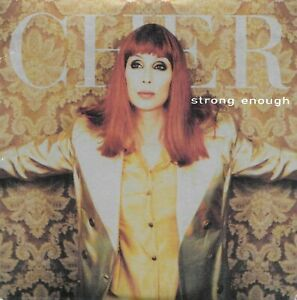 CD single CHER - Strong enough 2 Titres  POP Electronic DANCE