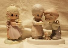 Lot of 2 Precious Moments Enesco Figures / Sweeter Years & Birthday Blessing