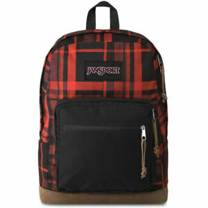 """JanSport Right Pack Expressions with 15"""" Laptop Sleeve - Red Diamond Plaid"""