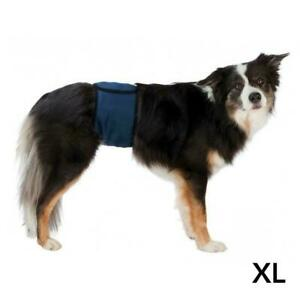 Trixie Male Dogs Incontinence Belly Band with 3 Absorbant Pads - X-Large 55-65cm