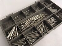 A2 Stainless Steel Split Pins Clevis//Cotter Pin DIN 94 5mm x 56mm 5 Pack