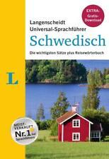 """Langenscheidt Universal-Sprachführer Schwedisch - Buch inklusive E-Book zum Thema """"Essen & Trinken"""" von Redaktion Langenscheidt (2015, Kunststoffeinband)"""