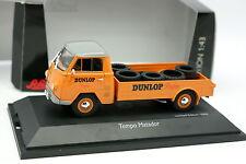 Schuco 1/43 - Matador De Tempo Dunlop Reifen Neumáticos