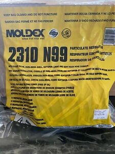 Moldex 2310  (Bag Of 10) Color/Grey Size Medium/Large Exp. Date 07/2024