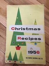 christmas recipes 1956 the  peoples nature gas co