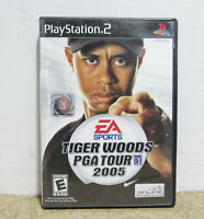 EA Sports 2005 Tiger Woods PGA Golf Tour Video Game Disc For Sony PlayStation 2