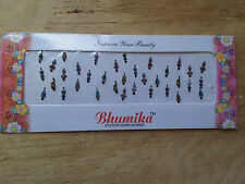 Sticker Bindi /Temp.Tattoo /Decorative Jewels/ Belly Dance/ Indian Bridal 1 Pack