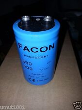 NOS 1PC FACON 680uF 400V 51X79mm HI_END LONG LIFE AUDIO TUBE AMP CAPS!
