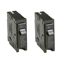 2x Eaton 15-Amp Bryant BR Trip Fuse Box Single-Pole Light Circuit-Breaker Switch
