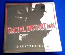"SOCIAL DISTORTION 'GREATEST HITS' Double VInyl LP , 12"" Record New Sealed"