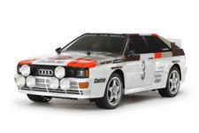 Tamiya 58667 Audi Quattro A2 TT-02 Chassis w/ESC RC Car 1:10 Scale Kit