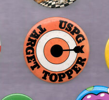 MOD TARGET BADGE HULL CITY WOLVERHAMPTON WANDERERS WOLVES COLOURS 20MM DIA