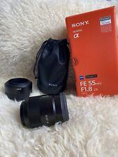 Sony AF Zeiss E-Mount 55mm f/1.8 Lens SEL55F18Z FULL-Frame Sonnar T
