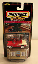 DTE RARE SAMPLE CARD MATCHBOX SUPERFAST RED/WHITE RESIN 1955 CHEVY BEL AIR