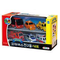 6pcs Tayo Little Bus Friends Mini Car Toy Set For Kids Gift TV Character_eg
