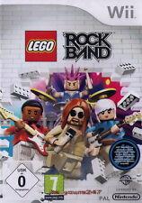Lego Rock Band   Wii deutsche Version NEU