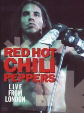 Red Hot Chili Peppers [ RARE ENHANCED IMPORT DVD ] Live From London  READ BELOW