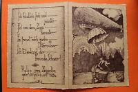 Aviatik RARITÄT AK Helga v Zeppelin Luftschiff ZEP 1 1934 Geburtsanzeige Abwurf