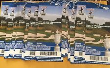 Lot Of (2) 2009 U.S. Open Sat June 20 Bethpage State Park Unused Tickets