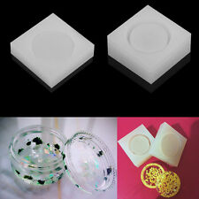 DIY Silicone Round Box Mold Making Jewelry Resin Epoxy Casting Mould Craft Tool