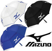 "MIZUNO TOUR AUTHENTIC 68"" DOUBLE CANOPY GOLF UMBRELLA / BROLLEY / ALL COLOURS"