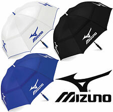 "MIZUNO TOUR AUTHENTIC 68"" DOUBLE CANOPY GOLF UMBRELLA / BROLLEY / NEW FOR 2019"