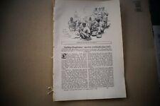 1915 Fachbericht vh /  1. Weltkrieg ...Farbige Engländer