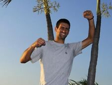 Novak Djokovic ‏ 10 x 8 UNSIGNED photo - P20 - HANDSOME!!!!