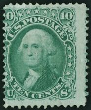 "US Sc# 96 *UNUSED H* { 'F GRILL 10c WASHINGTON } ""SCARCE OF 1867 TR CV$ 1,150.00"
