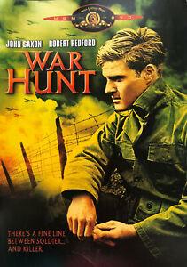 War Hunt DVD 1962 - Robert Redford - Action Adventure -Black & White REGION 1 US