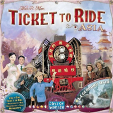 Ticket to Ride Asia - Map Collection - Brand New & Sealed