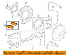 GM OEM Brake-Rear Pads 84176465
