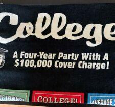 Novelty College Life Beach Towel