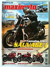 MAXIMOTO du n°78 du 10/2008; Kawasaki Ninja 250 R/ Yamaha Vmax/ Ducati Monster 6